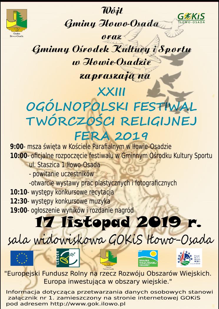 Wyniki Xxiii Ogólnopolskiego Festiwalu Twórczości